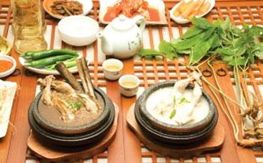 石锅参鸡汤